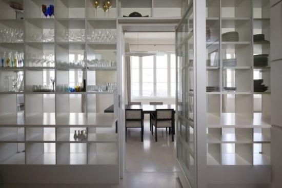 biały loft