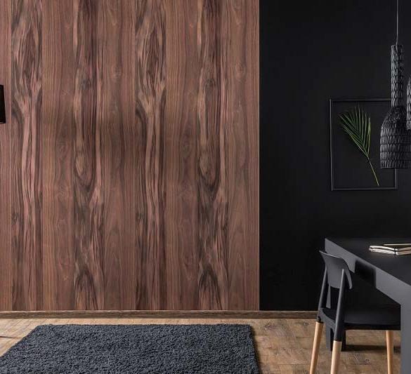 panele ścienne wzór drewno