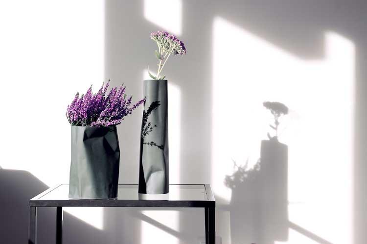 pogniecione wazony ceramiczne - oryginalny prezent na dzień mamy