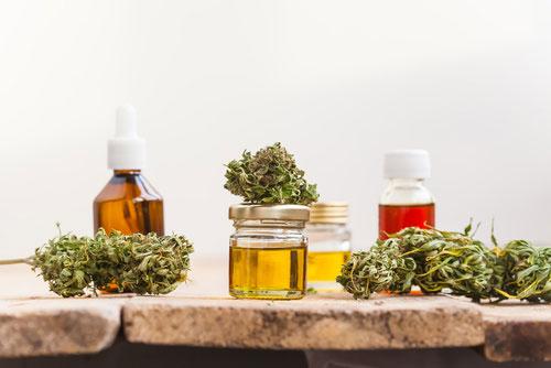 olejki eteryczne i suszone rośliny