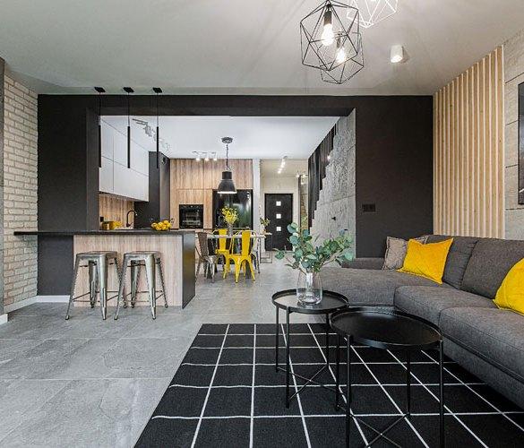 Modny apartament w stylu loft