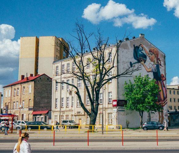 Murale wielkoformatowe
