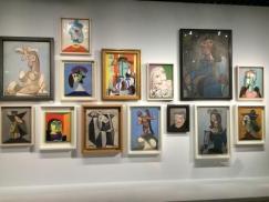 Différentes oeuvres de Picasso