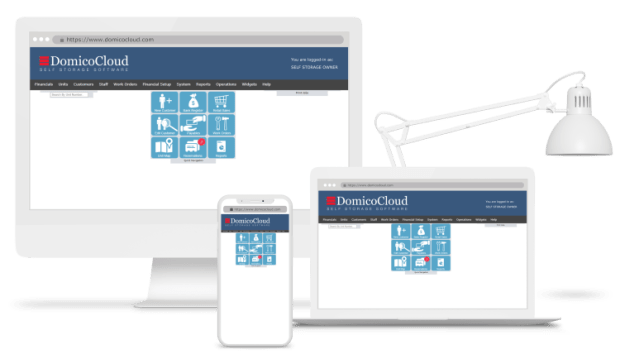 Domico Cloud Self Storage Software