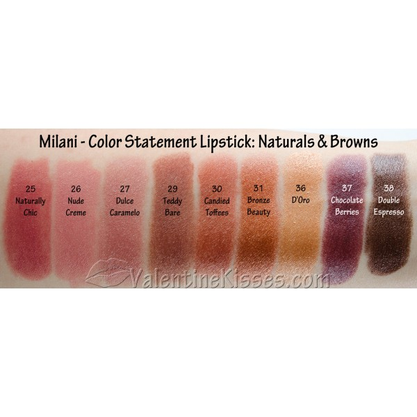 Jual Milani Color Statement Lipstick Domidoki Store