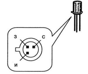 Diagrama de cableado de cableado con un transistor y multímetro