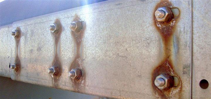 Incompatibilité du cuivre et de l'aluminium