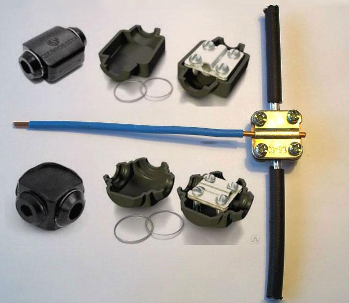 Comment connecter un conducteur de cuivre et une aluminium à travers une diapositive