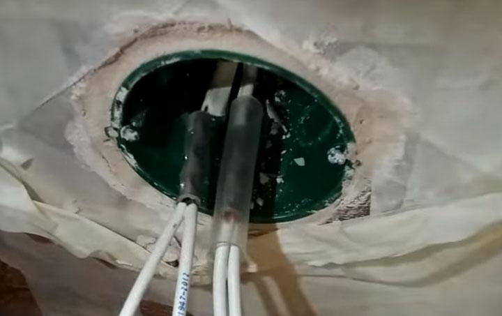 герметизация и изоляция места соединения меди с алюминием клеевой термоусадкой