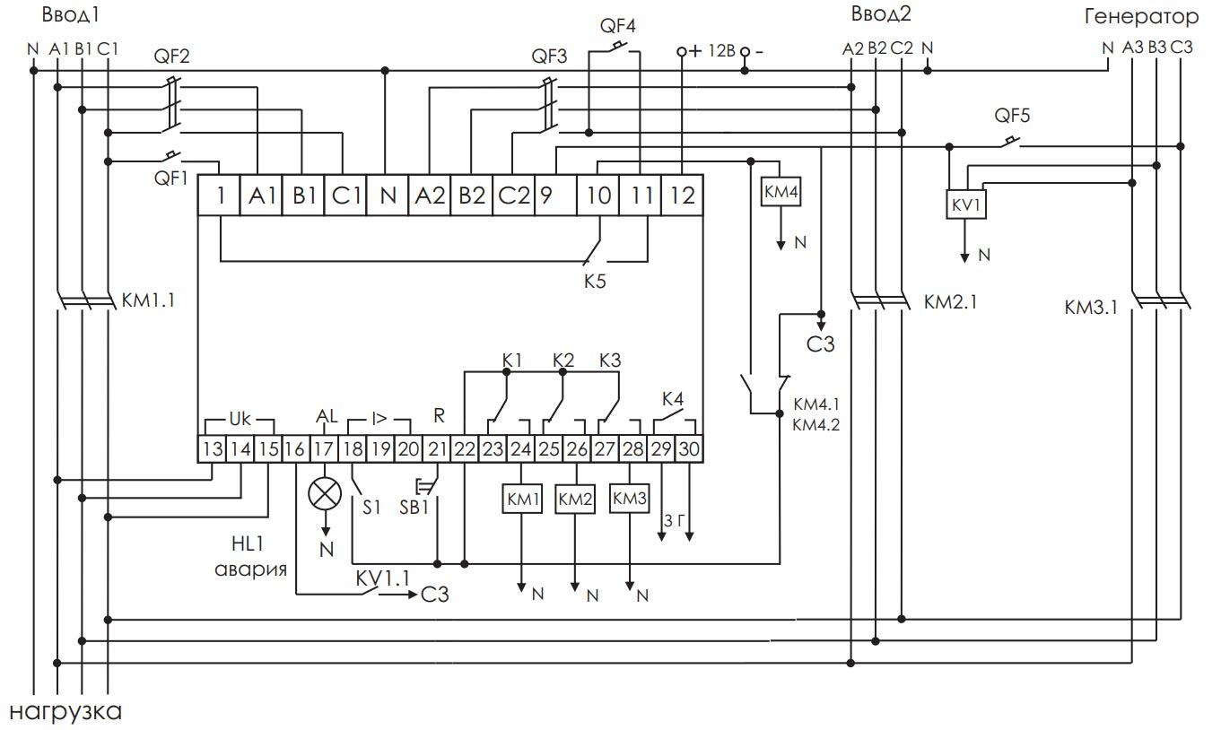 AVR-systemet monterat på grundval av AVR-02 från FIF EvroAutomatics