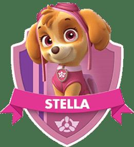 Stella, un chiot de la Pat Patrouille
