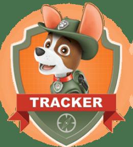 Tracker, un chiot de la Pat Patrouille