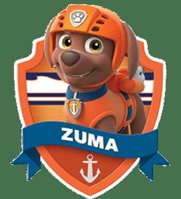 Zuma, un chiot de la Pat Patrouille