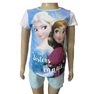 Pyjama court Frozen magic