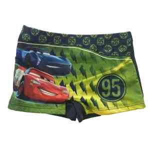 Boxer de bain vert Cars
