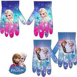 Paire de gants la reine des neiges