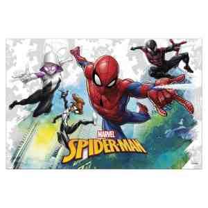 Nappe en plastique Spiderman