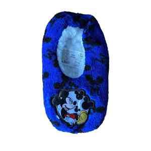 Chaussons bleus Mickey
