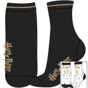 Lot de 2 paires de chaussettes Harry Potter Fille