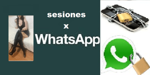 sesiones por whatsapp