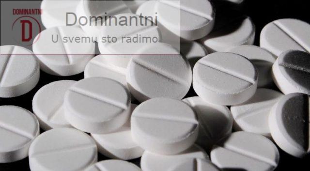 Paracetamol stavljen na listu kancerogenih supstanci
