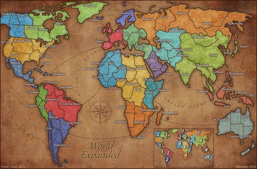 Dominating 12   Favourite Maps World Expanded  Just a good big world map risk players can appreciate and  instinctively know how to use it