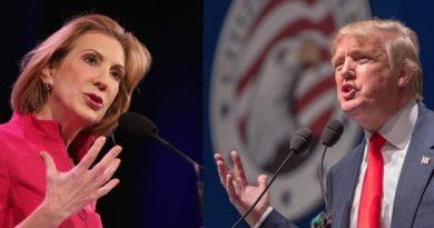 Parte de la popularidad de Fiorina se dio después de que Trump criticara la apariencia física de la aspirante republicana (Getty Images/Archivo).