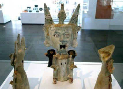 piezas arqueológicas del museo de sitio