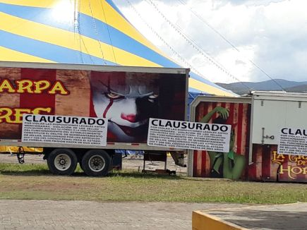 carpa de los horrores en tehuacan