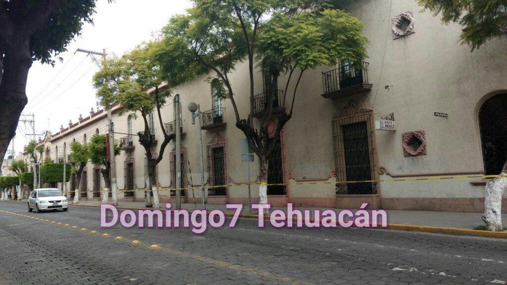 84 INMUEBLES DE TEHUACÁN CON DAÑOS TRAS EL SISMO DE 7.1 DE AYER