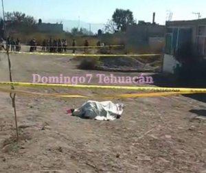 Cadaver en Santiago Miahuatlan