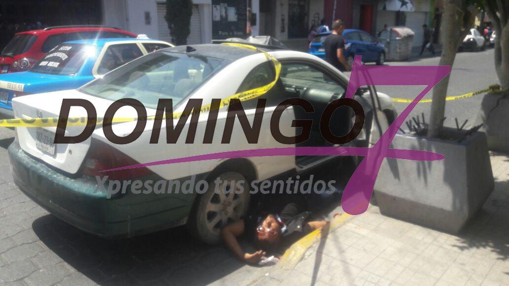 #AsíNoSePinchesPuede : EJECUTAN A HOMBRE EN PLENO CENTRO DE LA CIUDAD