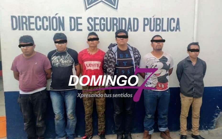 SEIS DETENIDOS Y TRES BALEADOS RESULTADO DEL ASALTO A GASOLINERA EN TEHUACÁN