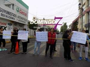 """""""EXIGIMOS SEGURIDAD PARA NUESTROS HIJOS"""": PADRES DE FAMILIA DE LA 'JOSEFA ORTIZ DE DOMÍNGUEZ'"""
