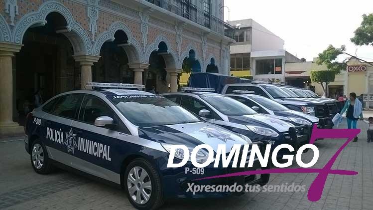 INVERTIRÁN 25 MILLONES PARA  20 PATRULLAS EN TEHUACÁN