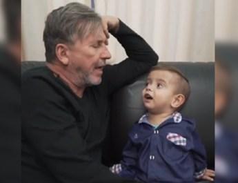 CON ESTE EMOTIVO VIDEO, RICARDO MONTANER DESPIDE  A ESTE  PEQUEÑO ANTES DE MORIR