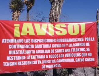 CON RESTRICCIONES DE ACCESO, REUBICACIÓN DE COMERCIANTES Y SANITIZACIÓN LUCHAN MUNICIPIOS CONTRA COVID-19