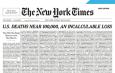 #COVID-19 LA PORTADA MÁS DOLOROSA DEL NEW YORK TIMES