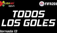eLIGA MX: JORNADA 13 GOLES, RESUMEN Y TABLA GENERAL