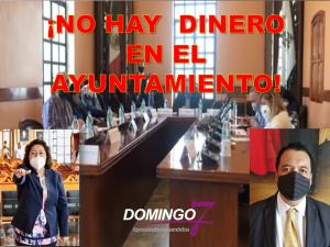 AYUNTAMIENTO NO PAGARÁ SALARIOS ¡QUE NO HAY DINERO!