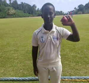 Dominica under-15 cricketer gets eight wicket haul in regional cricket championship