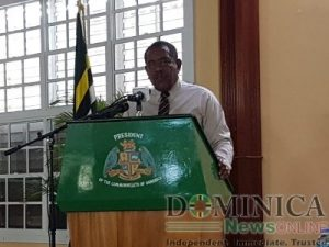 President Savarin condemns acts of violence on island