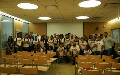 Our Young Voices visit the Dominican Studies Institute