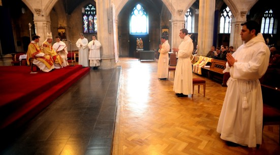 The three brother to be ordained