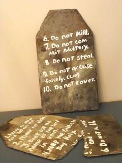 Moses commandments