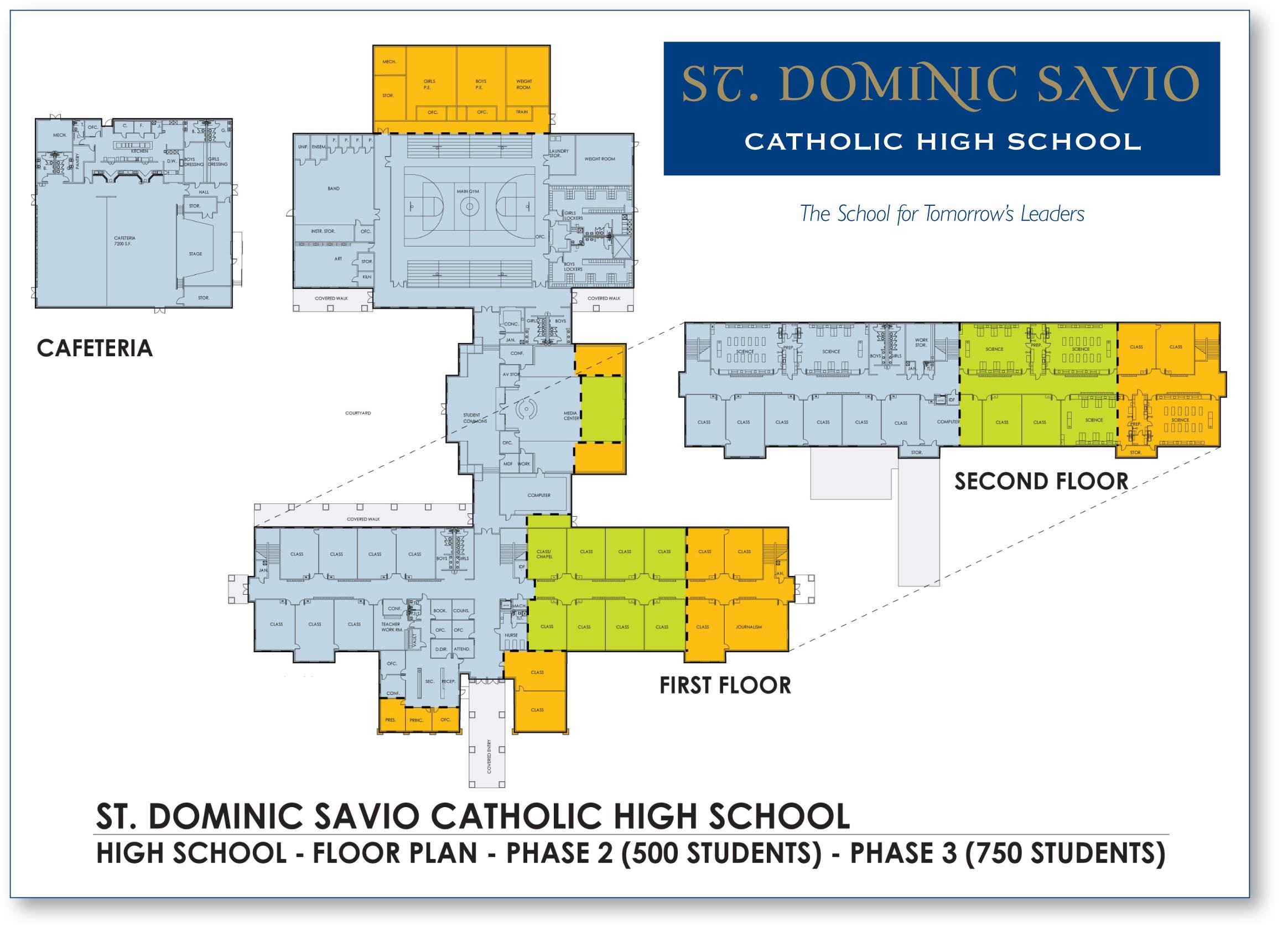 Floor Plan For St Dominic Savio High School