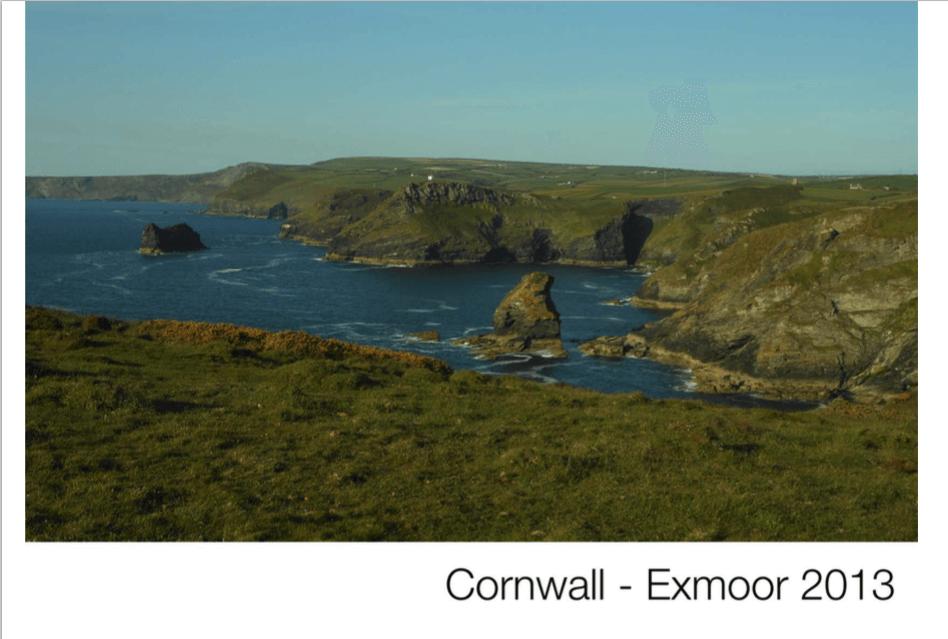 Cornwall – Exmoor juni 2013
