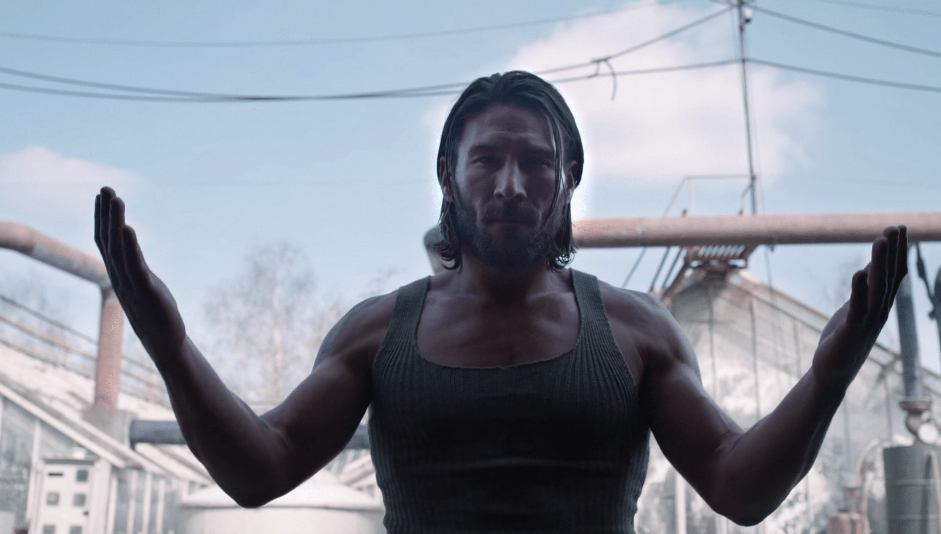 This shot of Zach McGowan was most likely supposed to be a center shot, but it's just slightly off.