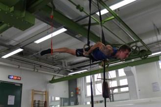 Functional-Training/Turnen an den Ringen im HAW Studio