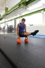 Functional-Training mit Kettlebell im HAW Studio